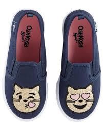 Oshkosh Toddler Shoe Size Chart Oshkosh Emoji Slip On Shoes Oshkosh Com