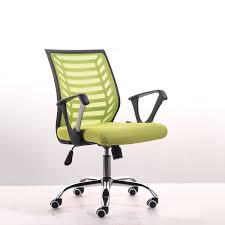 simple office chair. Simple Modern Office Chair Lifting Swivel Staff Home Leisure Computer Gaming Breathable Mesh Cloth Meeting Chair-in Chairs From Furniture R