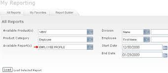 Employee Profile Sample Employee Profile