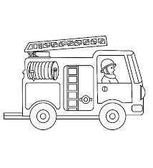 Free Printable Fire Truck Coloring Page Free Printable Fire Truck
