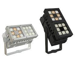 Rectangular Led Flood Lights Surface Mounted Light Fixture Led Rectangular Outdoor Revo Xl Duo Dmx Tunable White Cls Led