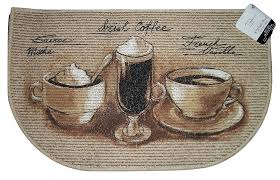 unique coffee cup kitchen rugs with swisse mocha irish french vanilla mat slice accent