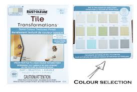 rustoleum paint color chartYes You Really Can Paint Tiles RustOleum Tile Transformations