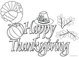 Free Printable Thanksgiving Coloring Sheets For Kindergarten