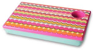 colorful bean bag lap desk for girls
