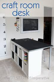 Surprising Craft Table With Storage For Craft Room Decoration Ideas :  Wonderful Craft Room Design Ideas