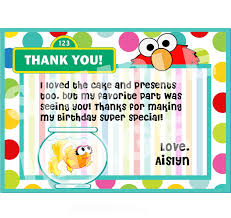 Letter Birthday Thank You Letter Template