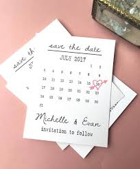Print Save The Date Cards Calendar Save The Date Cards Simple Save The Date Includes