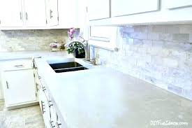 concrete countertops kits pour in place concrete how to make beautiful white cast in place concrete