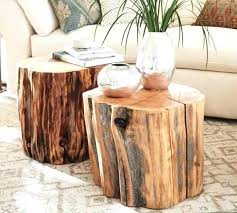 reclaimed wood stump table tables made out of tree stumps timber log side table tree trunk reclaimed wood stump