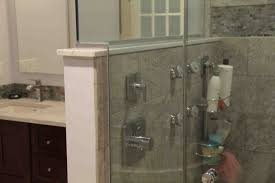 shower dividers for locker rooms tub enclosure ideas gl parion cost
