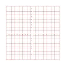 Numbered Axis Graph Paper Pads Math Graphing Sheets