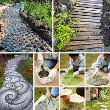 25 lovely diy garden pathway ideas 00