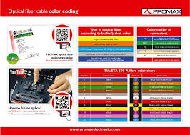 Cable Color Code Chart Optical Fiber Cable Color Chart