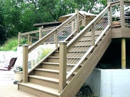 wood stair railing ideas outdoor wooden stairs engaging wood stair railing ideas outdoor wooden deck step