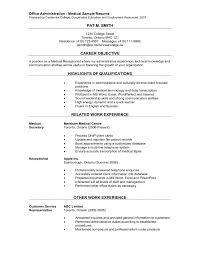 receptionist resume example all receptionist resume sample medical resume examples office administration sample resume office medical secretary resume template medical office secretary resume sample