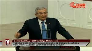 DENİZ BAYKAL'DAN TARİHİ BİR KONUŞMA - YouTube