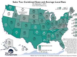 State And Local Sales Tax Rates 2013 Income Tax Property