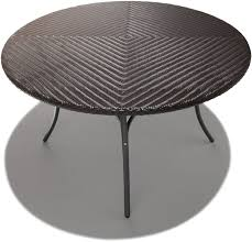 inch round patio table outdoor wicker dining inspirations with 60