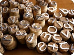 making wine cork letter stamps these cute stamps are pretty easy to make they
