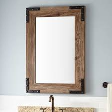 wood mirror frame ideas. Phenomenal Reclaimed Wood Bathroom Mirror Room Decorating Ideas Ana White Framed Mirrors Featuring The Space 24 Vanity Frame R