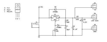 lm317t adjustable power supply 5 steps lm317t adjustable power supply instructables schematic jpg