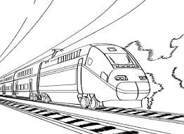 These train coloring pages feature bullet trains, steam engines, freight trains, and more. Bullet Train Coloring For Boys Educative Printable Train Coloring Pages Train Drawing Printable Coloring Pages