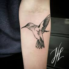 Hummingbird Tattoo By Marjorianne идеи для татуировок Tattoos