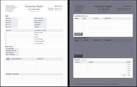 Line Notes Template The Daily Production Report Explained With Free Template