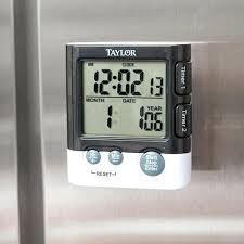 taylor kitchen timer reset