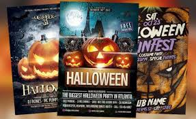 Halloween Flyers Templates Best 25 Free And Premium Halloween Party Flyer Templates 2013