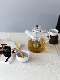 Designer Glass Teapot Kettle Teapot Glass