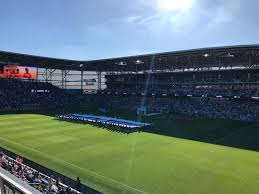 Allianz Field Seating Chart Allianz Field Section 109 Row 3 Seat 3 Minnesota United