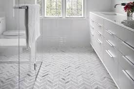 Patterned Bathroom Floor Tiles Classy 48 Bathroom Floors That Pull Off Pattern Wayfair