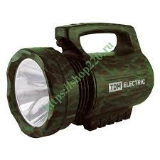 """<b>Фонарь</b>""""<b>Тактика 3</b>"""" прожектор аккумуляторный 5W 1LED CREE ..."""
