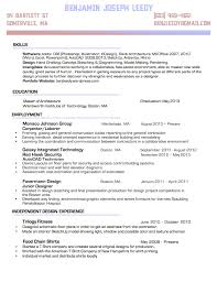 Resume Skills Organizedtype. Joseph Krazinski. Space Between for Resume  Categories