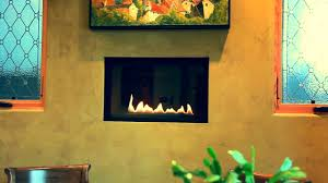 integrated venetian plaster fireplace vancouver