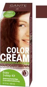 Sante Tinte En Crema Color Cream Caoba 150 G Ecco Verde Tienda