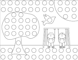 25 Dot Coloring Pages Printable Free Coloring Pages