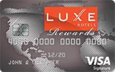Can i use it for shopping everywhere 3. Luxe Hotels Rewards Visa Signature Review Bestcards Com