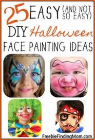 diy face paint ideas photo credit to freebiefindingmom com
