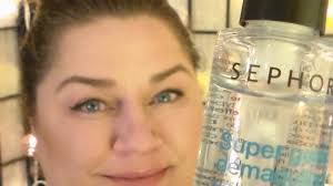 first impressions of sephora s 2 in 1 waterproof eye makeup remover gel you