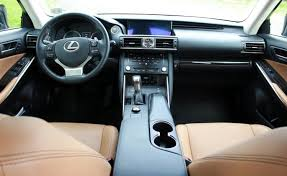 2018-Lexus-IS-350-Tan-Leather-Interior-Dashboard