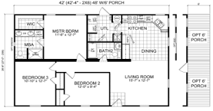 double wide mobile home floor plans.  Plans Longstreet  3 Beds  2 Baths 1120 SqFt 28 X 42 Double Wide  Intermediate Priced Homes Throughout Mobile Home Floor Plans