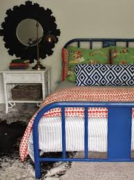 Painting A Metal Bed And Getting Past Perfection Emily A Clark Adorable Spray Painting Patio Furniture Remodelling