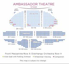 Kaye Playhouse Seating Chart Ambassador Theatre Shubert Organization