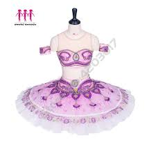 Us 347 13 13 Off Adult Professional Ballet Tutu Two Pieces Oriental Arabic Top Tutu Skirt La Bayadere Tutu Girls Ballet Stage Costume Lilac B1294 In