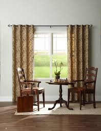 Office drapes Casual Panel Grommet Fabric Pattern Window Treatments Curtains Drapes Draperies Blinds Horizon Office Sitting Room Halo3screenshotscom Panel Grommet Fabric Pattern Window Treatments Curtains Drapes