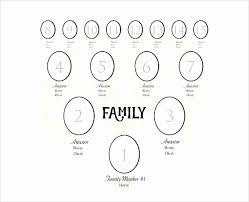 7 Generation Family Tree Template New 4 Generation Family Tree