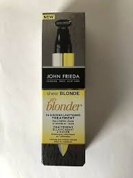 john frieda sheer blonde go blonder in shower lightening treatment 34 ml new